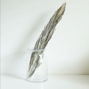 Dried Palm Leaf Decor Piece